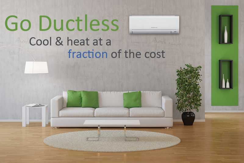 ductless minisplit systems provide quiet and even air ensuring optimal heating and cooling comfort yearround while cutting costs